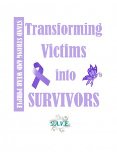 "Domestic Violence Awareness Month, October ""Stand Strong & Wear Purple"""